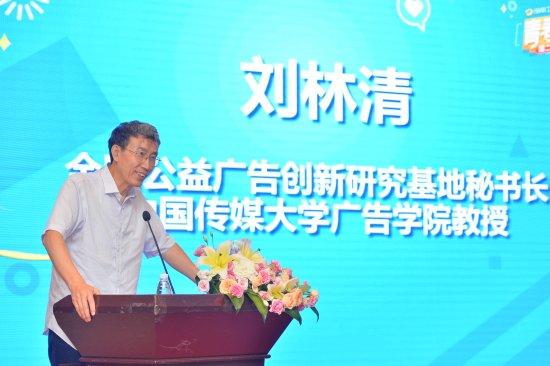 全国公益广告创新研究基地秘书长、中国传媒大学广告学院教授刘林清点评作品